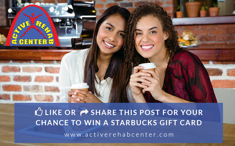 Active Rehab Starbucks Gift Card Facebook Contest 2015
