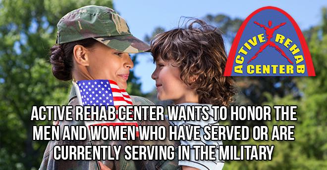 Active Rehab Center Veterans Day 2015