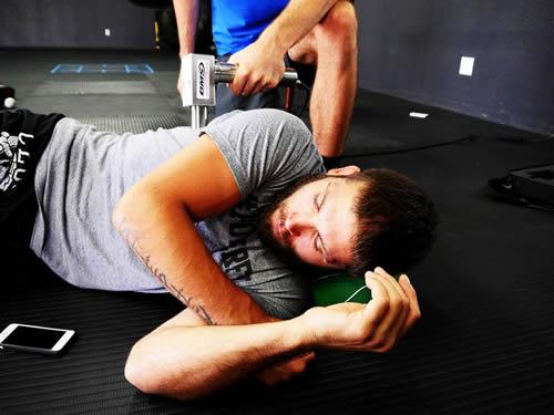 Jeremy Stephens Training